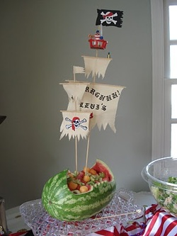 Mesmerize Your Guests With Pirate Party Ideas - Birthday